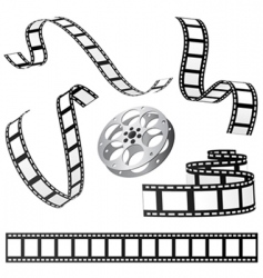 film and roll vector image