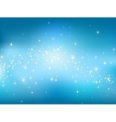 Abstract luminescence background in star sky style vector