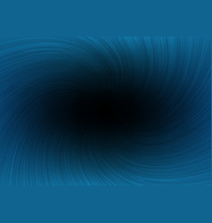 dark twist line burst ray on blue background vector image