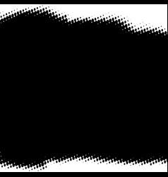 halftone grunge background vector image