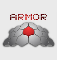 Hard armor vector