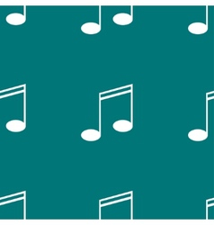 Music elements notes web icon flat design Seamless vector