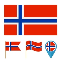 Norwaycountry flag vector
