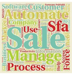 Sales Process What Can You Automate text vector