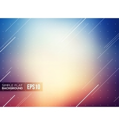 Simple flat gradient background vector image