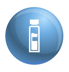 syringe icon simple style vector image