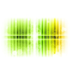 Vertical lines abstract green vector