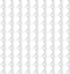 White 3d geometric background vector