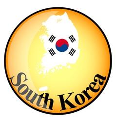 button South Korea vector image