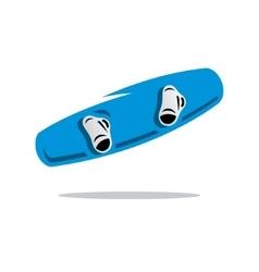 Wakeboard Cartoon vector image