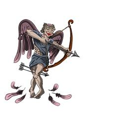 zombie angel vector image