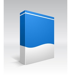 blank box vector image vector image