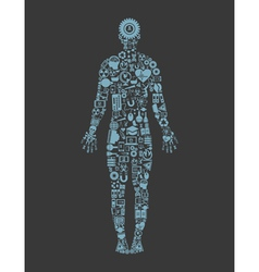 Science the person vector image vector image
