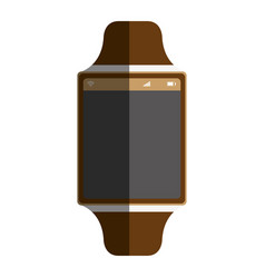 time smartwatch atch isolated icon vector image vector image
