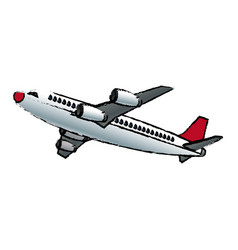 Aircraft plane transport flying vehicle vector