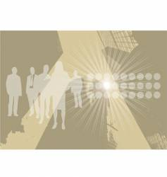 business graphic vector image