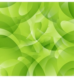 Geometric pattern green background vector