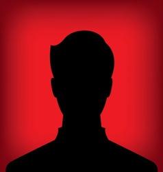 male profile picture vector image