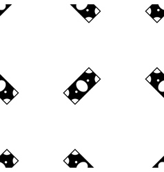 Money icon seamless pattern vector image