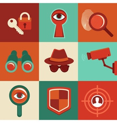privacy vector image