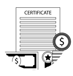 scholarship in university icon vector image