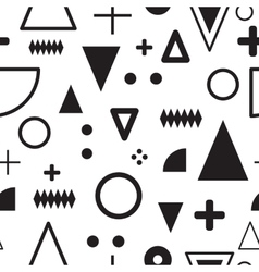 Seamless abstract geometric pattern vector