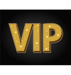 Very important person - VIP icon vector image vector image