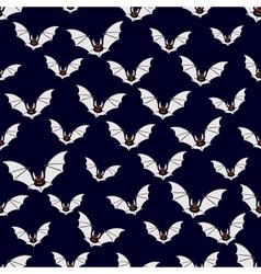 Abstract bats pattern vector image vector image