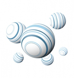 design balls vector image vector image