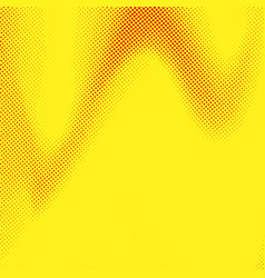 Abstract pop art style yellow dotted background vector