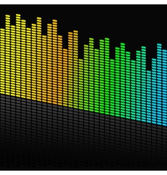Audio design vector
