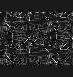 city map scheme roads city map pattern vector image