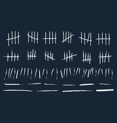 Creative of counting waiting vector