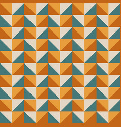 geometric bright multi colored background vector image