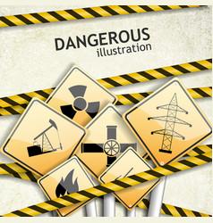 industrial textured background vector image