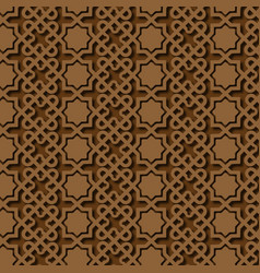 Islamic pattern background image vector