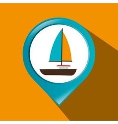 Nautical icon graphic vector