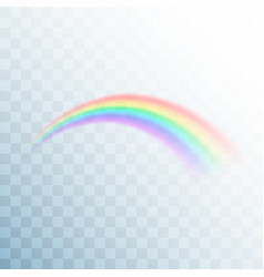 rainbow icon abstract rainbow image colorful vector image
