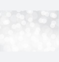 white blur bokeh light background vector image