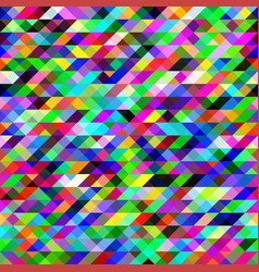 seamless texture of colored triangles abstract vector image