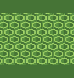 abstract hexagon polygonal pattern background vector image