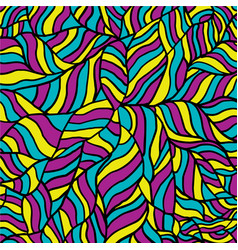 bright wave pattern seamless background vector image