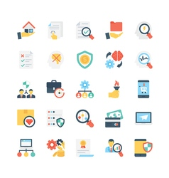 Business Icons 12 vector