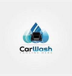 Car wash icon templatecreative logo design element vector