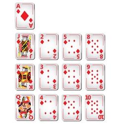 Diamond cards full series vector