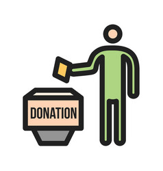 Donation vector