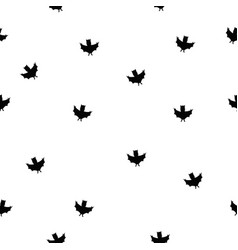 Fantastic unusual seamless halloween pattern with vector