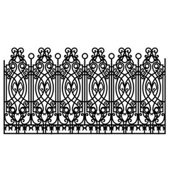 Forged modular fence vector