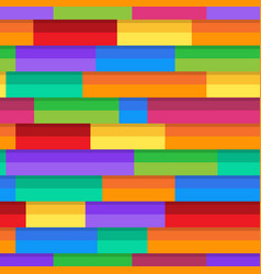 horizontal pattern colorful stripe seampless vector image