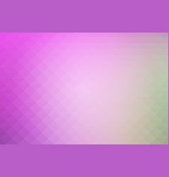 Purple green pink rows of triangles background vector